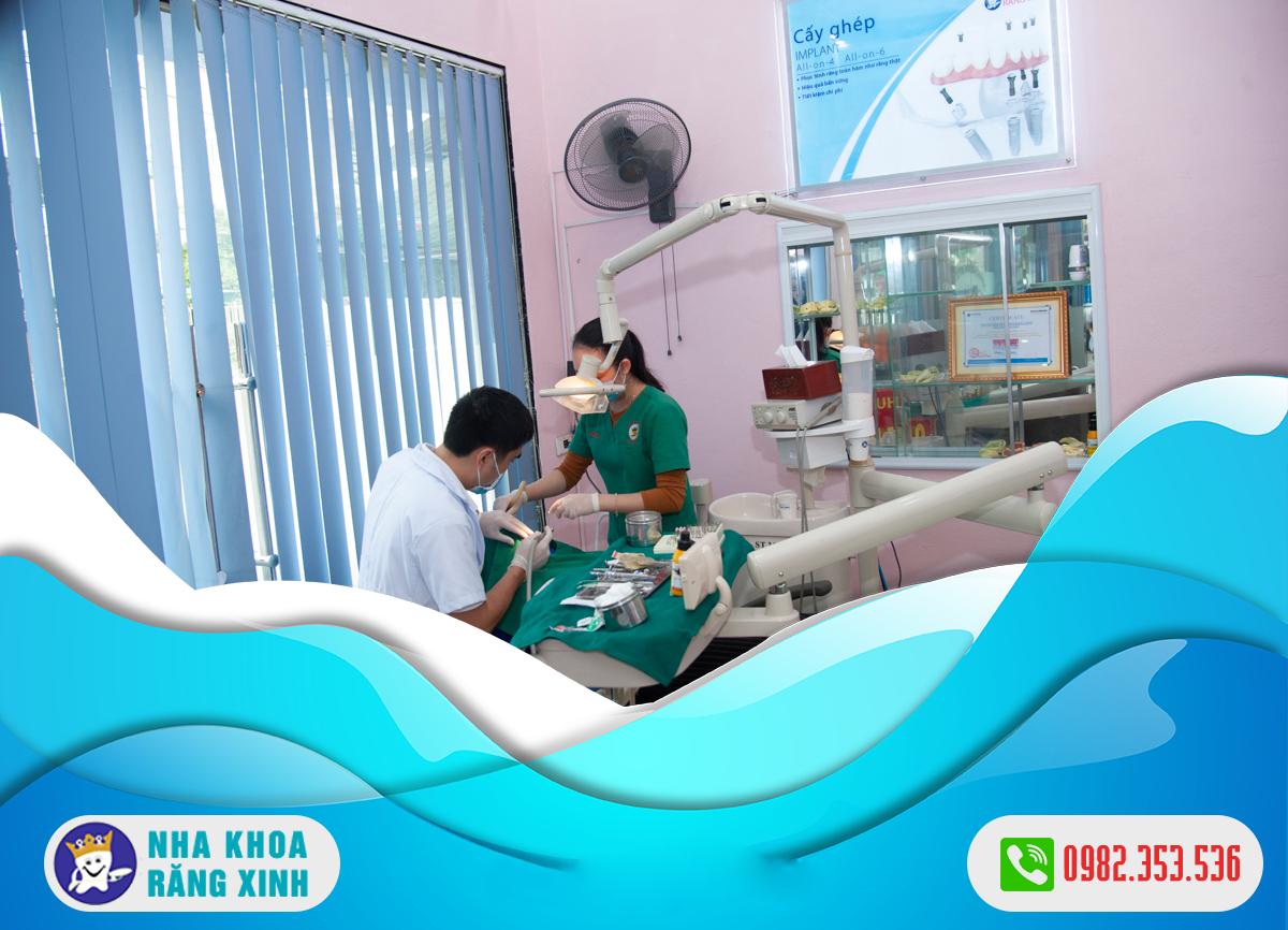 cắm ghép implant tại tp vinh an toàn hiệu quả